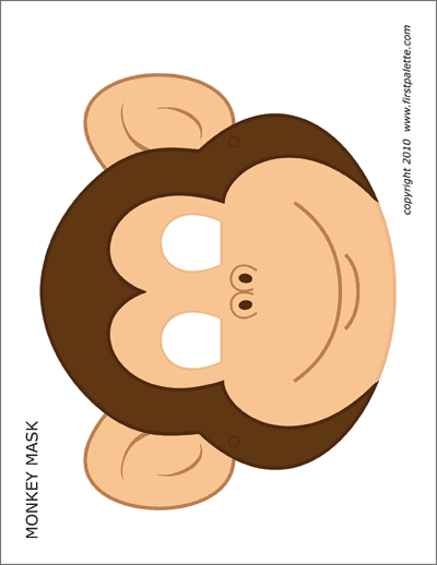 photo relating to Monkey Mask Printable named Lion Mask Free of charge Printable Templates Coloring Webpages