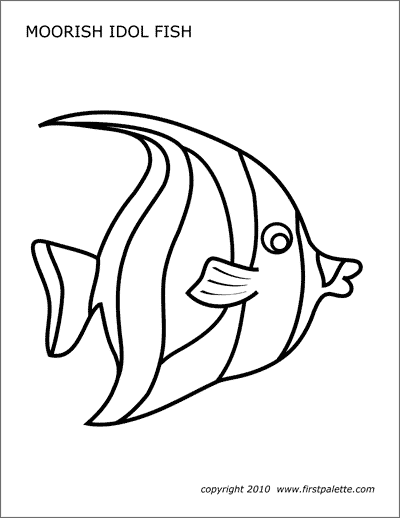 Sea Creatures Coloring Pages Fish Dolphins Sharks Other Incredible ... | 518x400