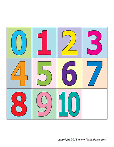 image relating to Large Printable Numbers 0-9 identify Quantities No cost Printable Templates Coloring Internet pages
