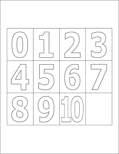 Alphabet Amp Number Printables Free Printable Templates