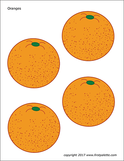 Oranges Free Printable Templates Amp Coloring Pages