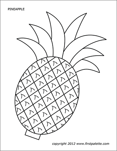 Printable Pineapple