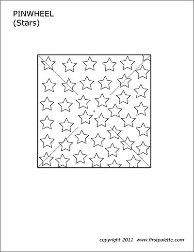 image regarding Star Wheel Printable called Pinwheel Templates Cost-free Printable Templates Coloring