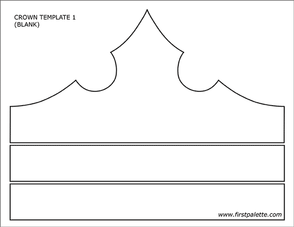 image relating to Printable Princess Crown known as Prince and Princess Crown Templates Totally free Printable