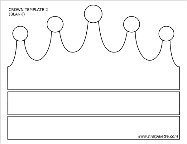 picture regarding Printable Princess Crown known as Prince and Princess Crown Templates Free of charge Printable