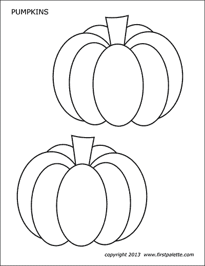 image regarding Pumpkin Printable Templates named Pumpkins Cost-free Printable Templates Coloring Internet pages