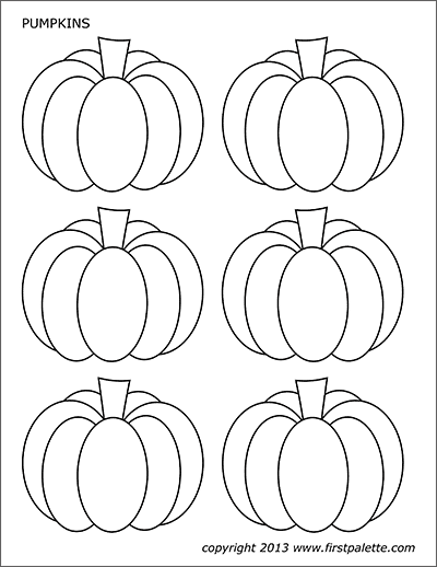 graphic regarding Pumpkin Outlines Printable named Pumpkins Free of charge Printable Templates Coloring Webpages