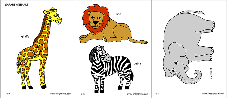picture regarding Printable Safari Animals identify Safari or African Savanna Pets Absolutely free Printable Templates