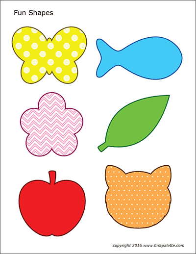 Basic Shapes | Free Printable Templates & Coloring Pages ...