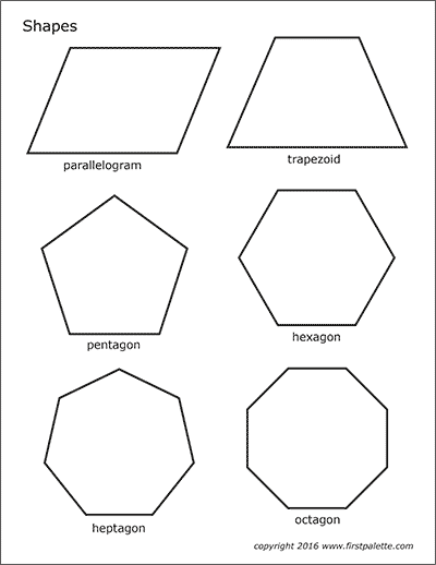 photograph about Printable Geometric Shapes titled Simple Designs Free of charge Printable Templates Coloring Web pages