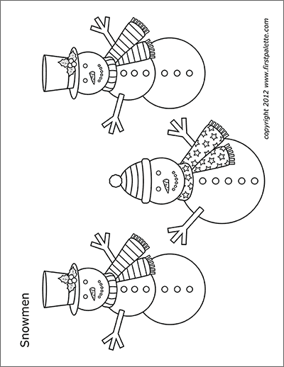 photo relating to Printable Snowman Picture referred to as Snowman Absolutely free Printable Templates Coloring Webpages