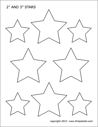 graphic relating to Printable American Flag Star Stencil named Celebrities Absolutely free Printable Templates Coloring Web pages