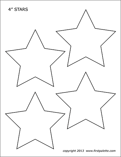 photograph relating to Printable Star Stencil identified as Celebs No cost Printable Templates Coloring Webpages