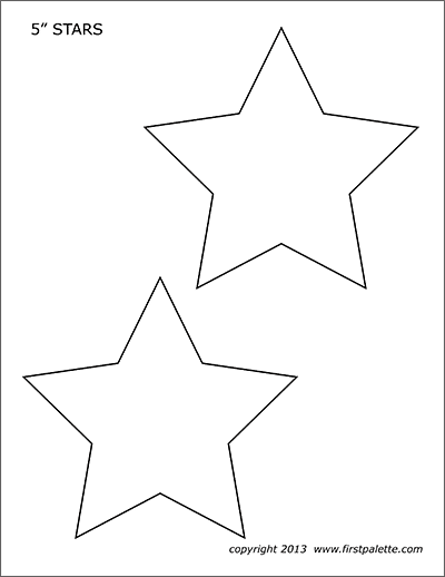 picture about Stars Printable Template known as Superstars Absolutely free Printable Templates Coloring Webpages