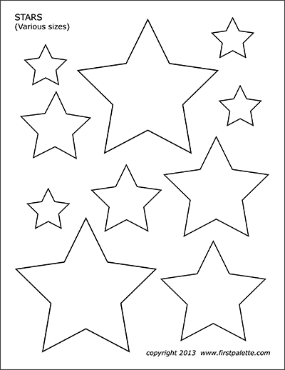 picture regarding Stars Printable Template known as Celebs Totally free Printable Templates Coloring Internet pages