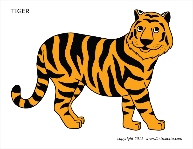 Tiger Free Printable Templates Amp Coloring Pages