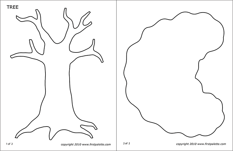 Printable Tree Template 3