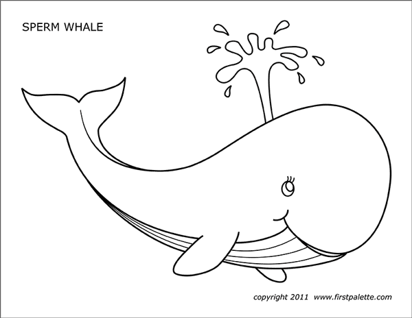 picture regarding Whale Stencil Printable known as Whale Cost-free Printable Templates Coloring Web pages