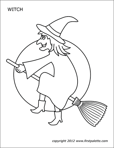 Printable Witch