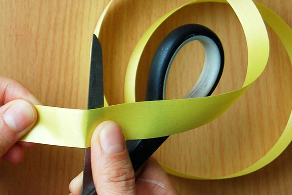 STEP 2 Curling Plastic Ribbons