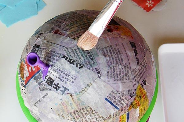 Papier Mache Balloon | Craft Recipes & How-To's | FirstPalette com